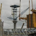 2010 год, монтаж клинкерной печи для цементного завода